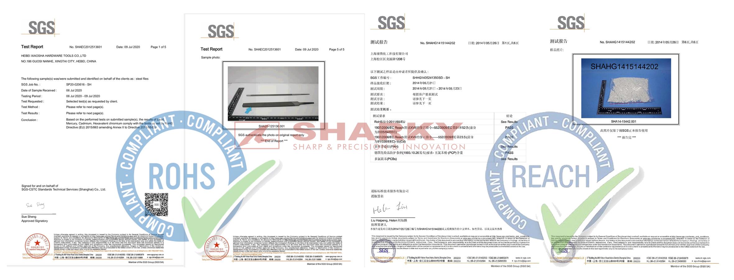 sharky certificate 4