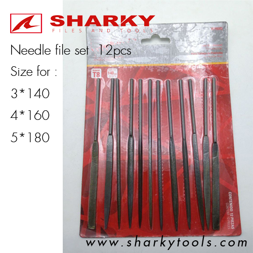 NEEDLE FILES SET 12 PCS