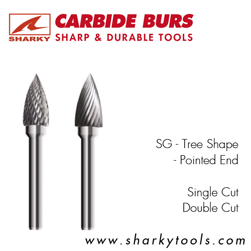 SG – Tree Shape – Pointed End
