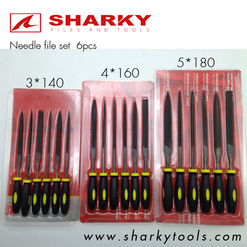 needle file set 6pcs