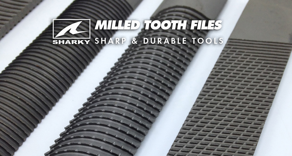 Milled Tooth Files and Blades
