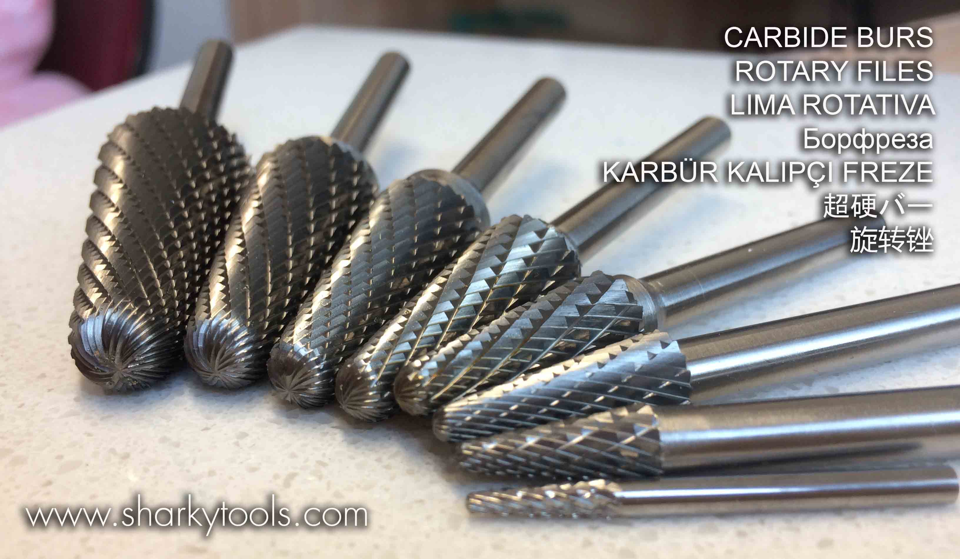 Carbide burrs