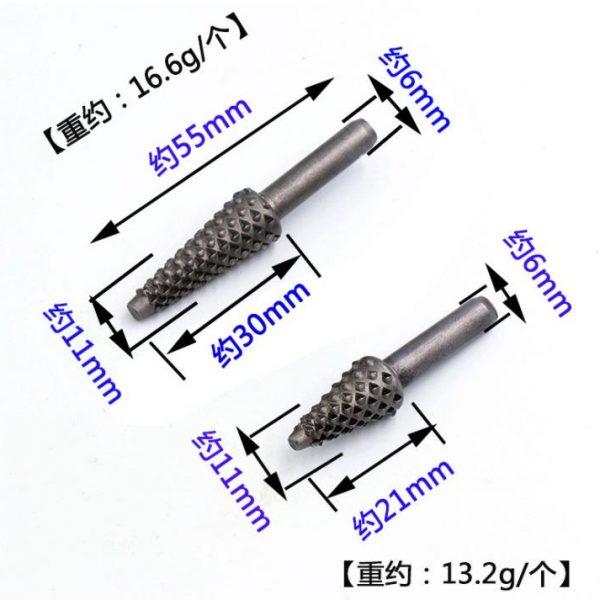 sharkytools-rotary rasp set size 2